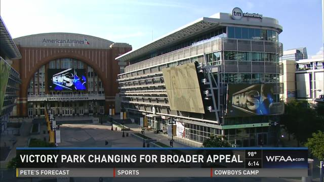 Victory Park changing for broader appeal