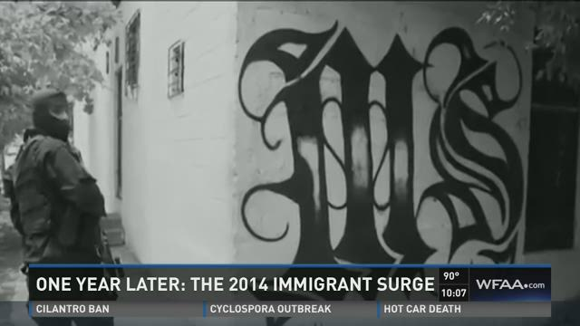 One year later: The 2014 immigrant surge