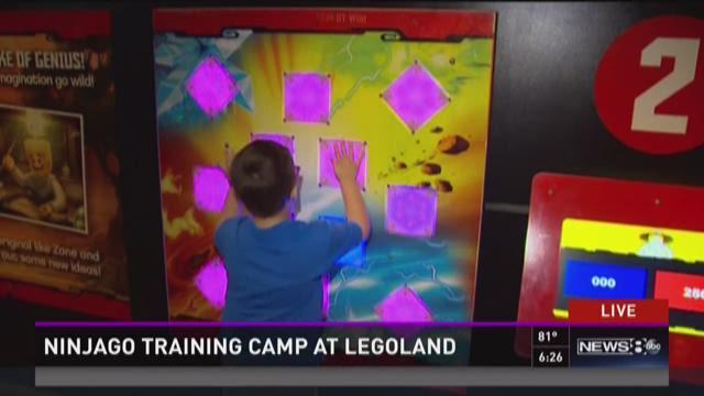 Ninjago training camp at LegoLand