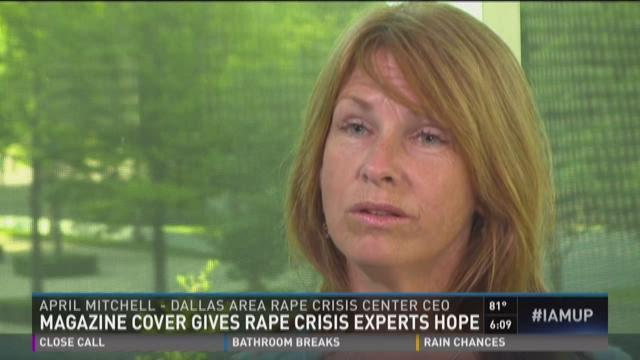 Magazine cover could affect rape reporting numbers in Texas