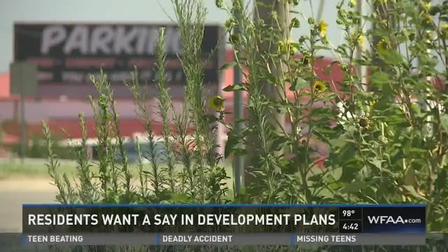 Keller residents want a say in development plans
