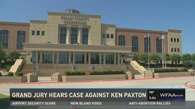 Grand jury hears case against Ken Paxton