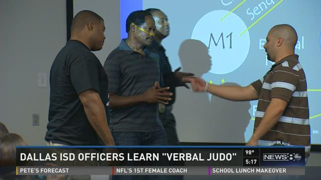 Dallas ISD officers learn Verbal Judo
