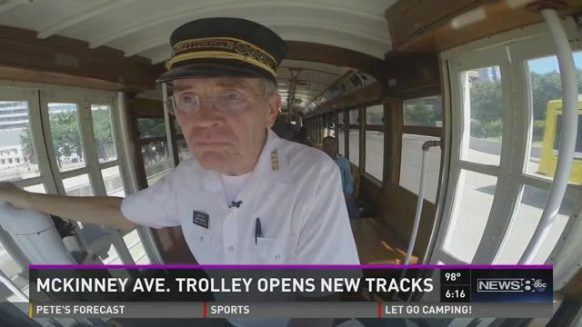 McKinney Avenue trolley expands route