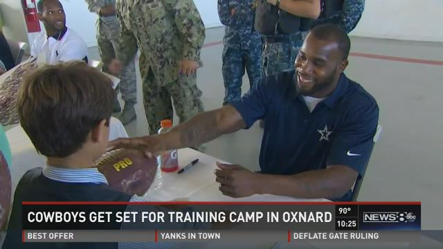 Mike Leslie reports from Oxnard on the eve of the 2015 camp.