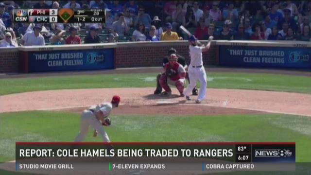 Report: Cole Hamels being traded to Rangers