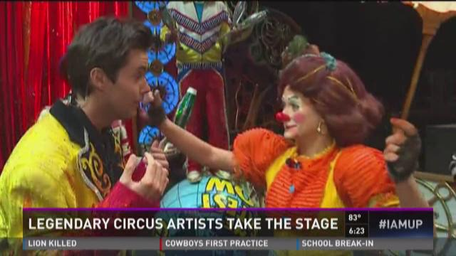 Legendary circus artists take the stage