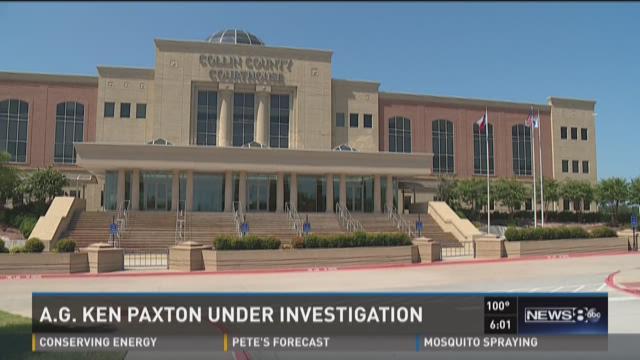 Texas AG Ken Paxton under investigation