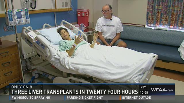 3 liver transplants in 24 hours