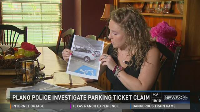 Plano police investigate parking ticket claim