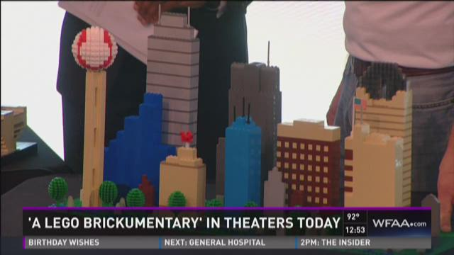 'A Lego Brickumentary' in theaters Friday