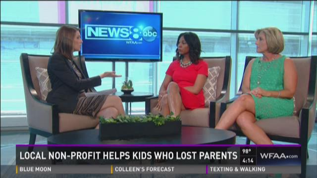 Local non-profit helps kids who lost parents