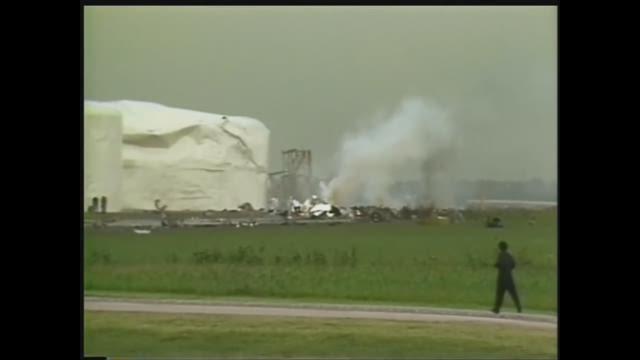 WFAA Rewind: Delta Flight 191 crash (8/2/85)
