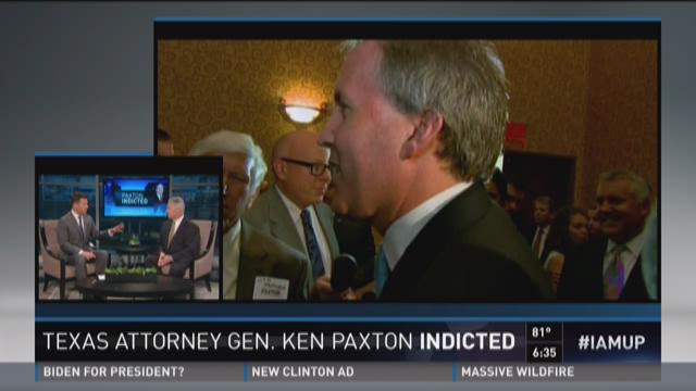 Attorney speaks about Paxton indictment