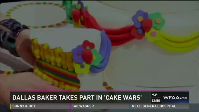 Dallas baker takes part in 'Cake Wars'
