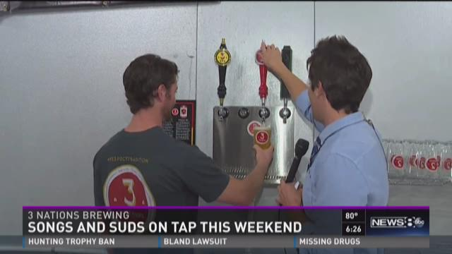 Songs and suds on tap this weekend