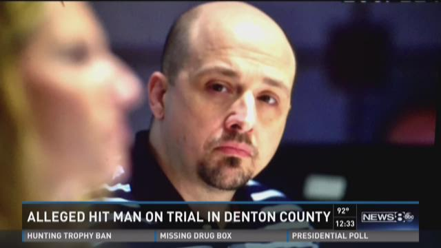 Alleged hit man on trial in Denton County