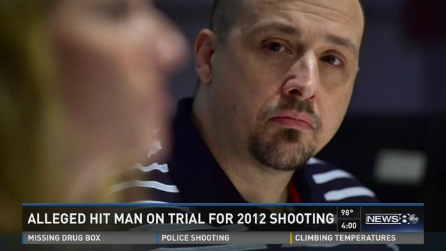 Alleged hit man on trial for 2012 shooting