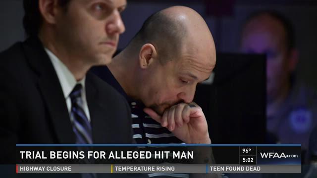 Alleged hit man on trial in Denton