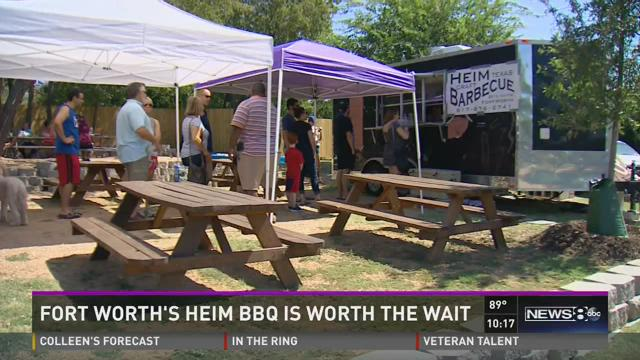 The Heim Craft Barbecue trailer serves up brisket that has become an overnight  sensation.