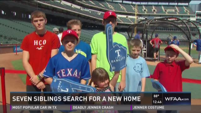 Wednesday's Child: 7 siblings search for a new home