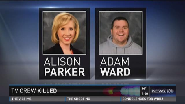 5 p m  update: Virginia journalists slain
