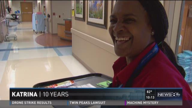 Katrina survivor builds new life in Dallas