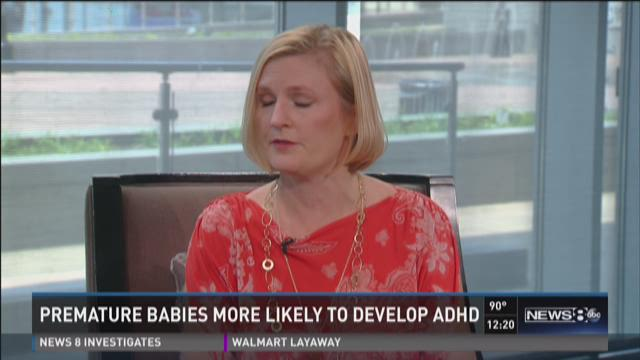 Premature babies more likely to develop ADHD