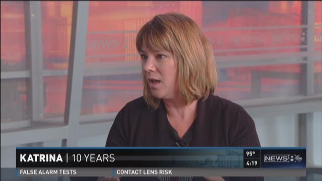 Red Cross spokeswoman looks back on Katrina response