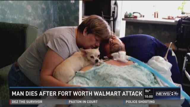 Man dies after Fort Worth Walmart attack