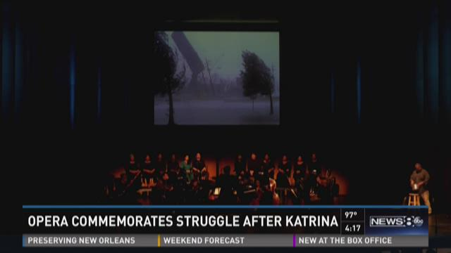 Opera commemorates struggle after Katrina