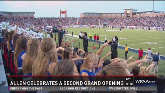 Football comes to Allen's Eagle Stadium
