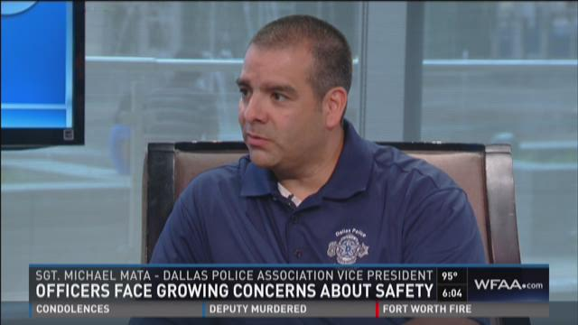 Police Assoc. VP on growing safety concern for law enforcement