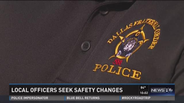 North Texas police departments seek safety changes