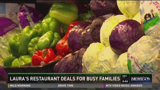 Daybreak deals: Free food for busy families