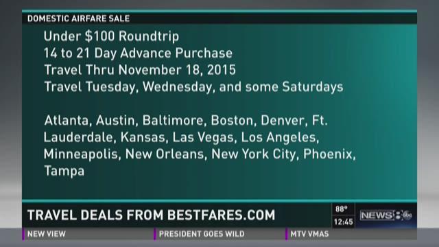 Travel deals from Bestfares.com