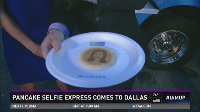 Pancake Selfie Express comes to Dallas