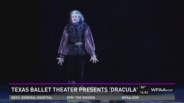 Texas Ballet Theater presents 'Dracula'