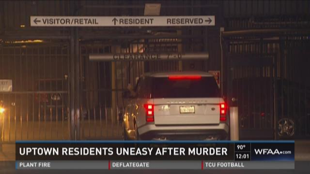 Uptown residents uneasy after murder in parking garage