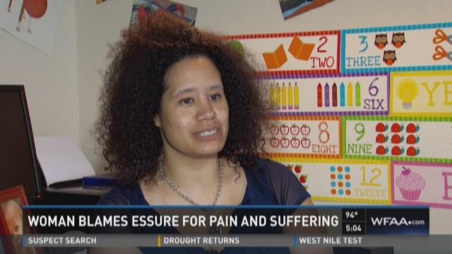 Woman blames Essure for pain, suffering