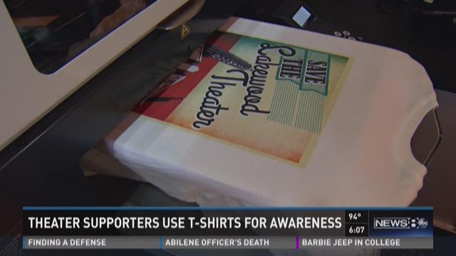 Lakewood Theater supports use T-shirts for awareness