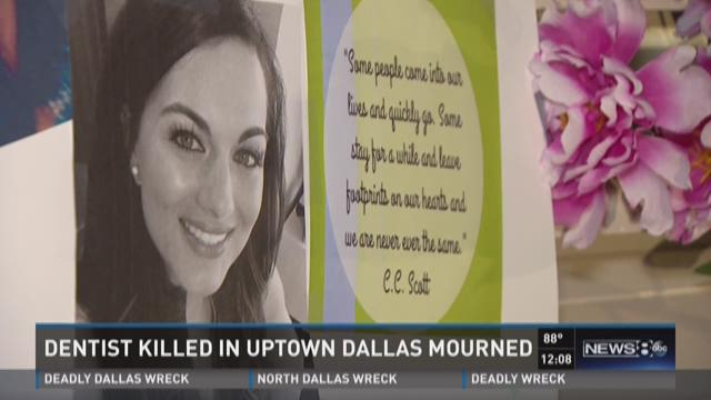 Dentist killed in Uptown Dallas mourned