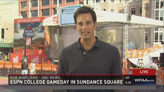 ESPN College Gameday in Sundance Square
