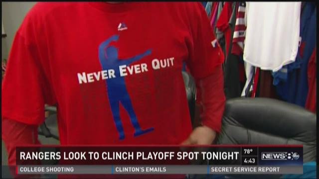 Rangers mix philanthropy into playoff push
