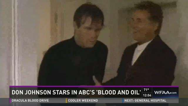 Don Johnson speaks about 'Blood and Oil'