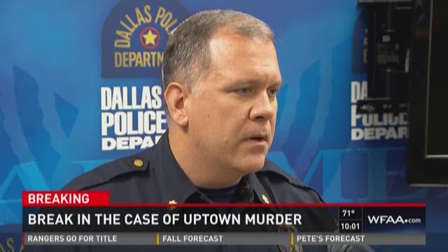 Break in the case of Uptown murder