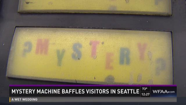 Mystery machine baffles visitors in Seattle