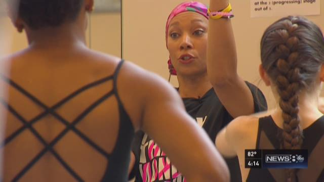 Teacher dances through fight against cancer