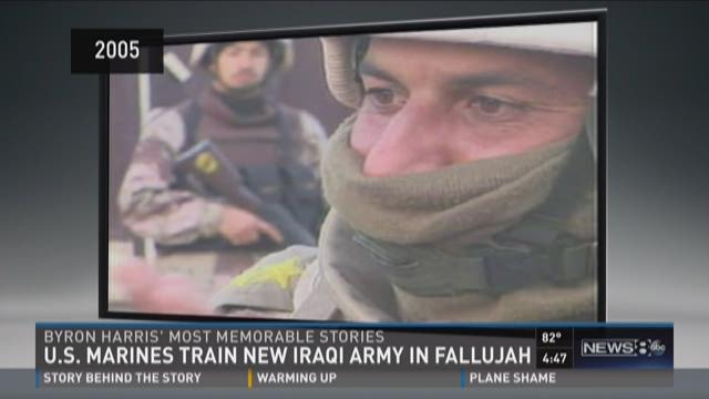 Byron Harris' most memorable stories: In Fallujah