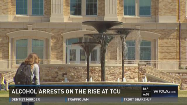 Alcohol arrests on the rise at TCU